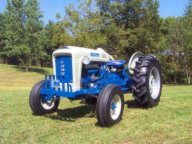 Leonard  U0026 Dorothy Lowry U0026 39 S 1964 Ford 4000